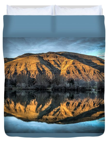 Chief Timothy Reflection Duvet Cover