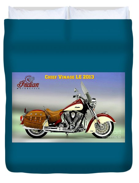 Chief Vintage Le 2013 Duvet Cover
