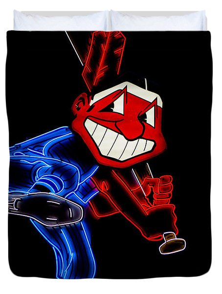 Chief Wahoo Duvet Cover