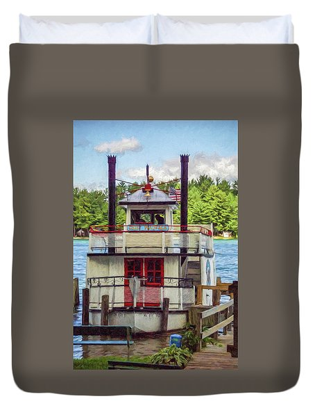 Chief Waupaca Duvet Cover by Trey Foerster