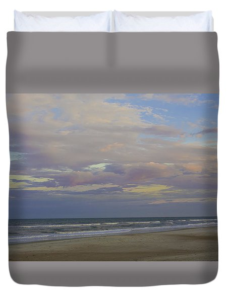 Chiffon Sunset Duvet Cover