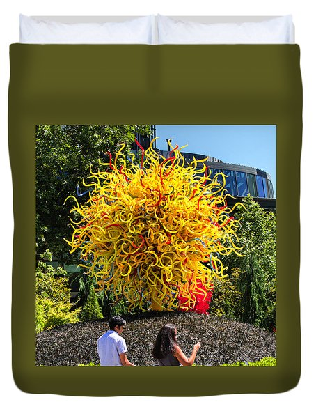 Chihuly Tree Duvet Cover