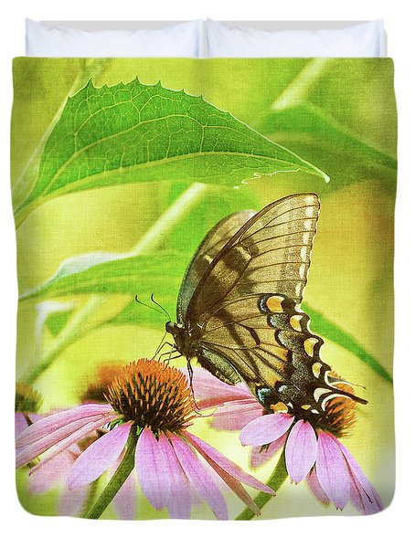 Child Of Sun And Summer Duvet Cover by Lois Bryan
