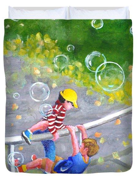 Childhood #1 Duvet Cover