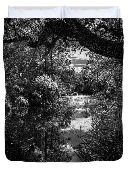 Childhood Creek Duvet Cover