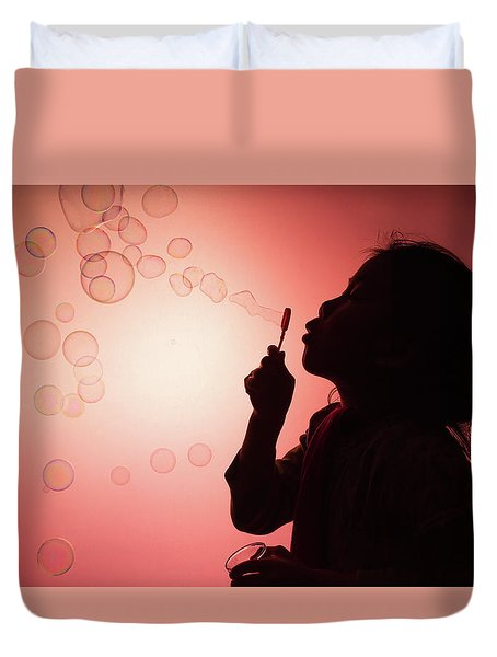Childhood Days Duvet Cover by William Lee