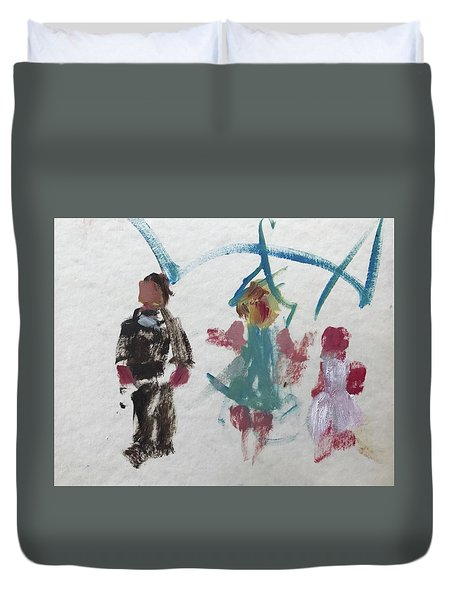 Children Duvet Cover by Carol Berning