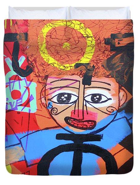 Children Of Ascension Duvet Cover