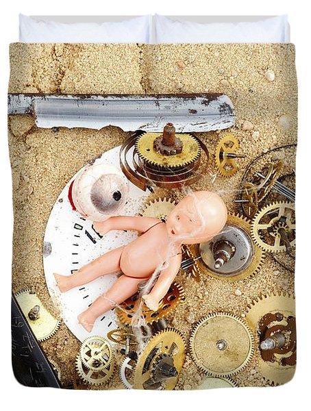 Children's Games Duvet Cover by Michal Boubin