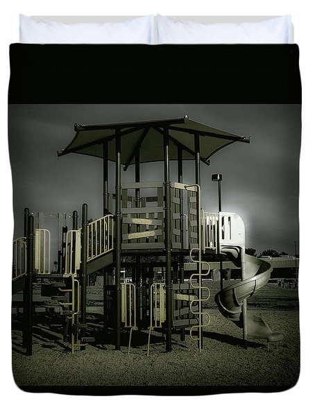Children's Playground Duvet Cover