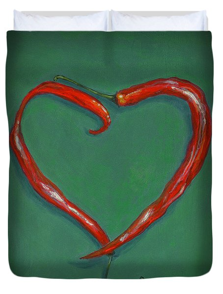 Chiles - Sweet Heat Duvet Cover