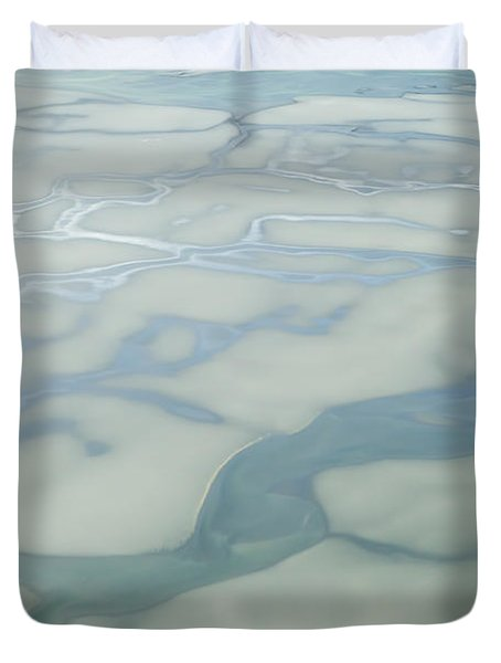 Chilkat River Patterns Duvet Cover