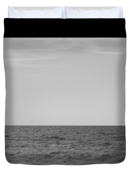 #chilling At The #seaside Of #ostia Duvet Cover by Lorin Braticevici