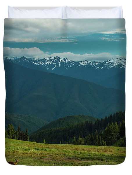 Chilling Out At Dusk Duvet Cover