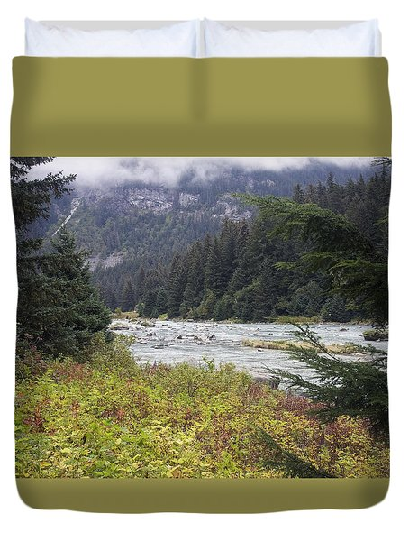 Chillkoot River 3 Duvet Cover