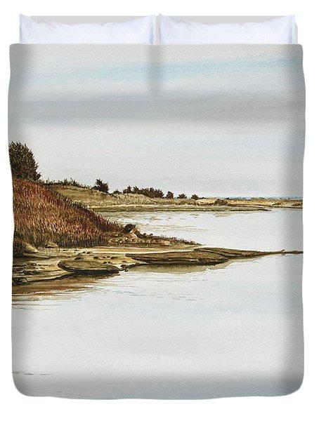 Chilmark Mv Stonewall Pond Duvet Cover