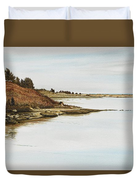 Chilmark Mv Stonewall Pond Duvet Cover