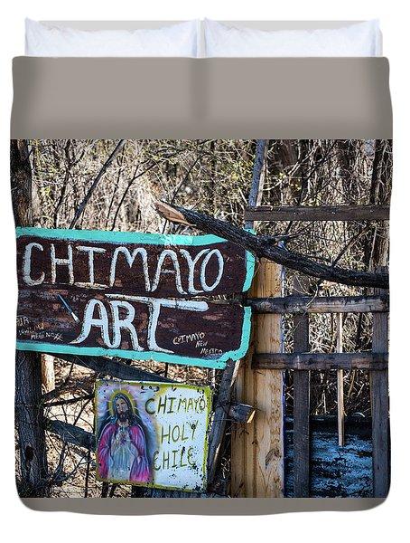 Chimayo Art Duvet Cover