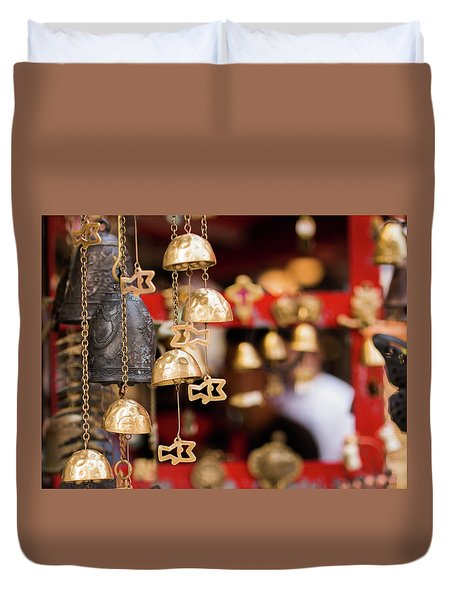 Chime Bell Duvet Cover