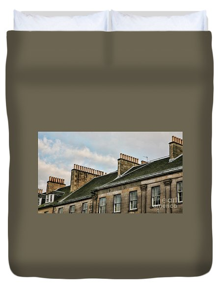 Chimney Architecture Duvet Cover