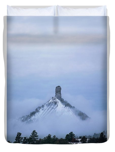 Chimney Rock Rising Duvet Cover