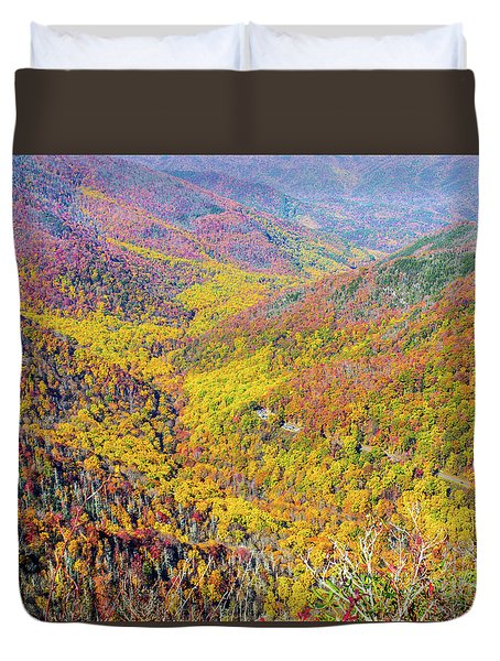 Chimney Tops Summit II Duvet Cover