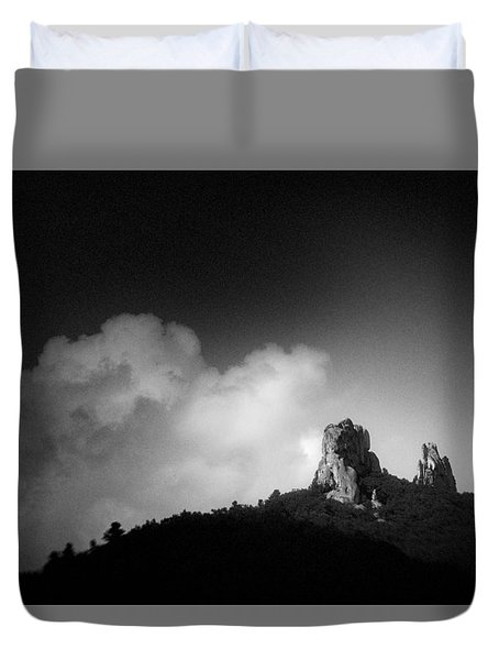 China #2209 Duvet Cover by Andrey Godyaykin
