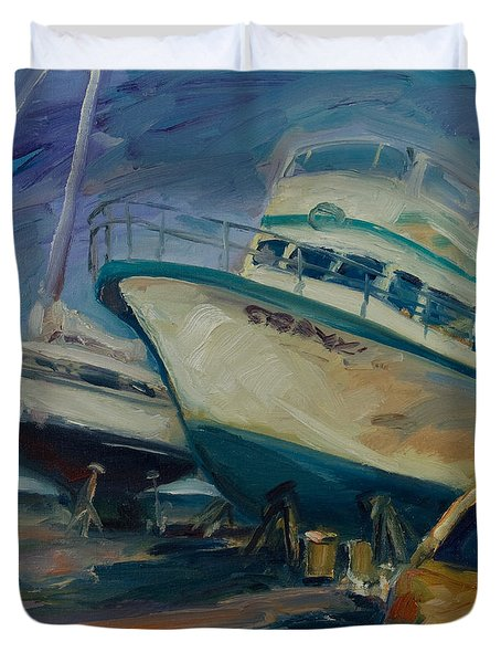 China Basin Duvet Cover