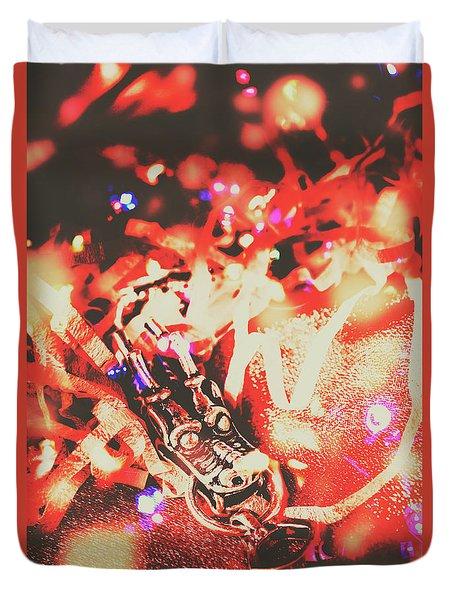 Chinese Dragon Celebration Duvet Cover