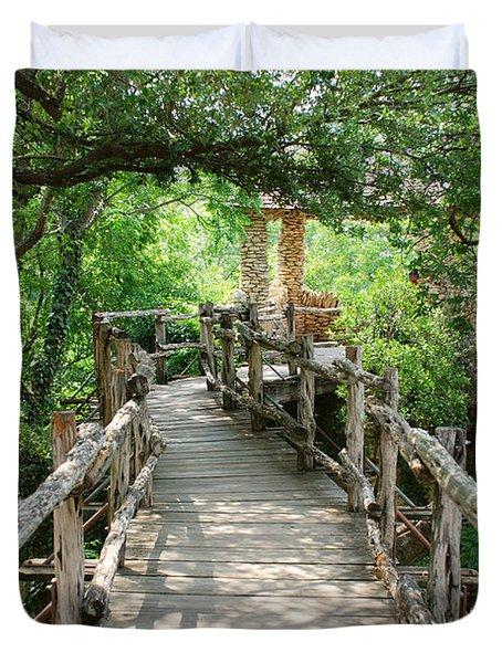 Chinese Garden Duvet Cover