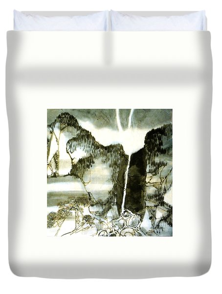 Chinese Landscape #2 Duvet Cover