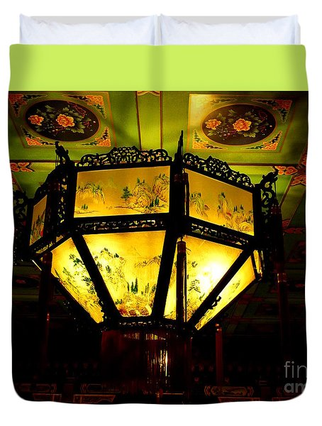 Chinese Latern Duvet Cover