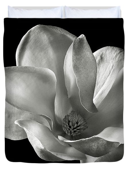 Chinese Magnolia Duvet Cover by Endre Balogh