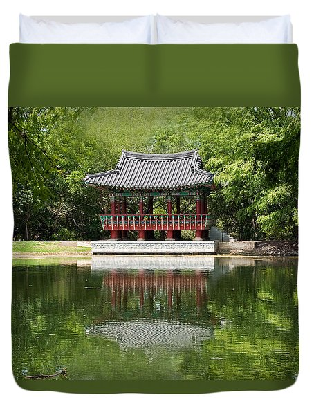 Chinese Theater Duvet Cover