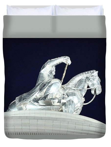 Chinggis Khan/tsagaan Sar Duvet Cover
