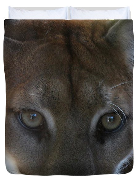 Duvet Cover featuring the photograph Chinook by Laddie Halupa