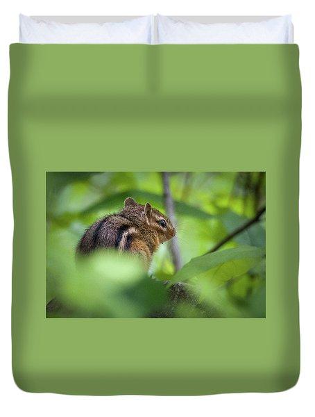 Chipmunk Duvet Cover