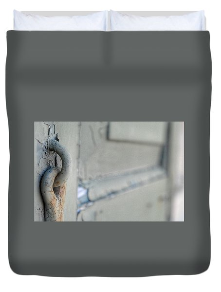 Chipped Latch Duvet Cover