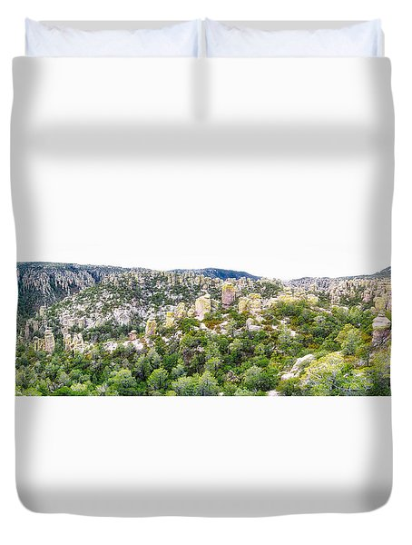 Chiricahua Mountains Duvet Cover