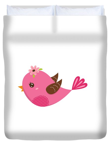 Chirp  Duvet Cover by Herb Strobino