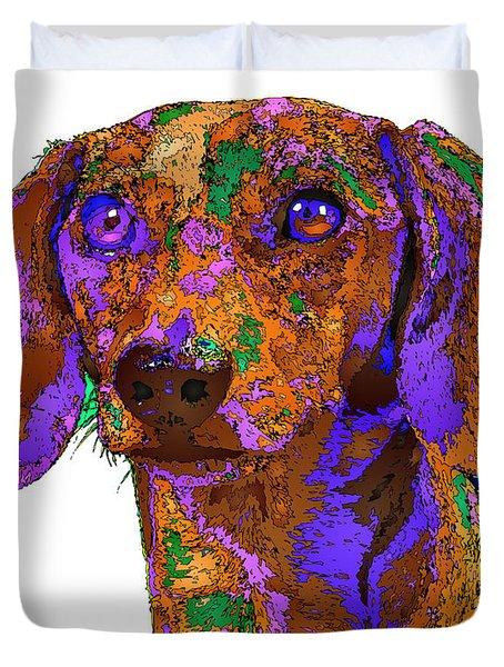 Chloe. Pet Series Duvet Cover