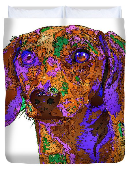 Chloe. Pet Series Duvet Cover
