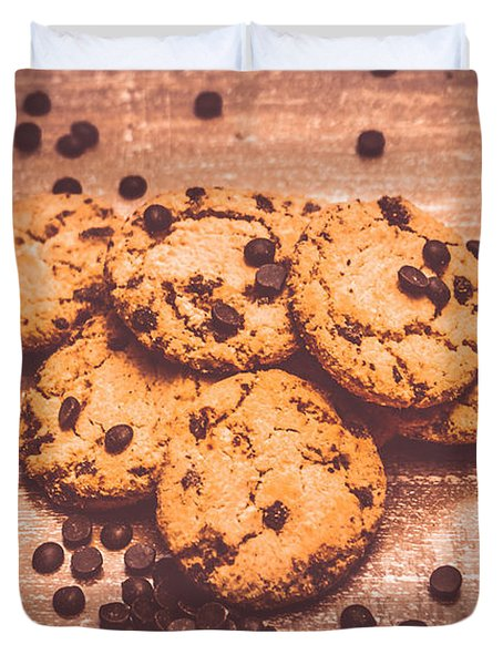 Choc Chip Biscuits Duvet Cover