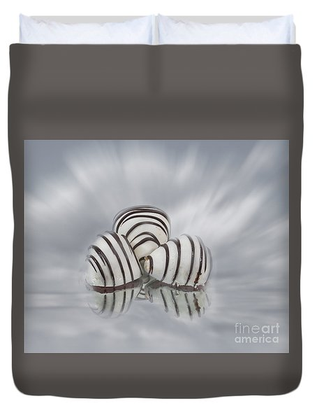 Chocolate Strawberries Duvet Cover