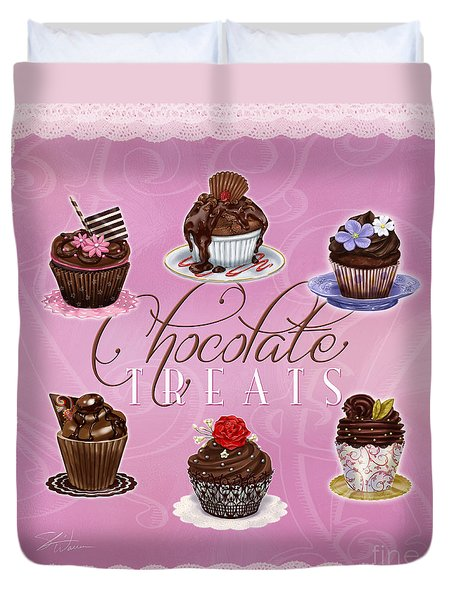 Chocolate Treats Duvet Cover