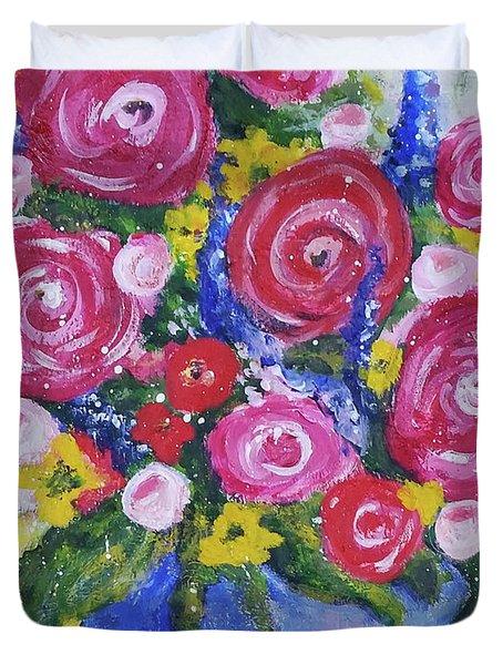 Choice Bouquet Duvet Cover