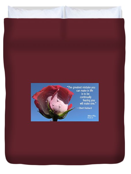 Choose Your Quote Choose Your Picture 24 Duvet Cover
