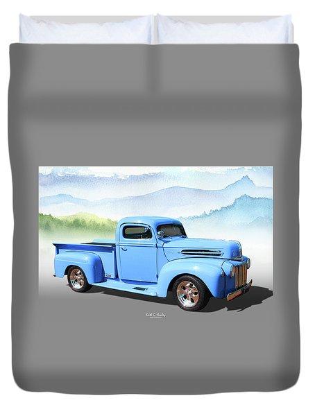 Chop Top Pickup Duvet Cover