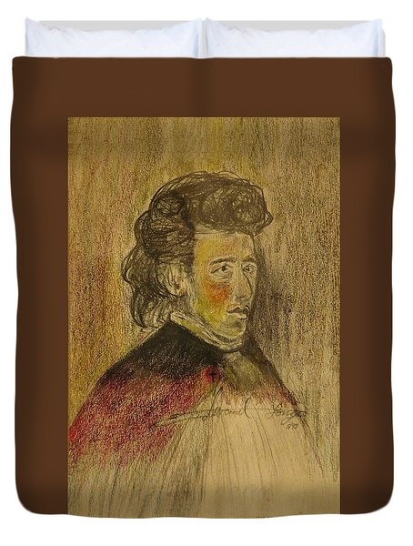 Chopin Duvet Cover