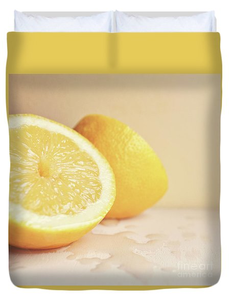 Chopped Lemon Duvet Cover